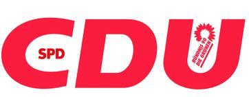 Schwarz, Rot, Grün (CDU-SPD-GRÜNE) Koalition (Symbolbild)