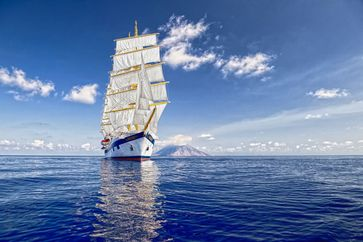 "Segelschiff Royal Clipper / Bild: ""obs/Nees Reisen GmbH/Star Clippers"""