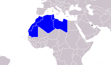 Die Staaten des Maghreb (im weiteren Sinne)