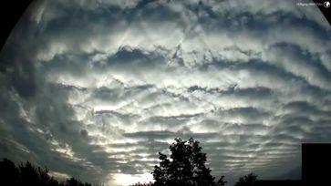 Menschgemachte Haarp Wolken sorgen für eine starke Abkühlung der Temperaturen. (Symbolbild)
