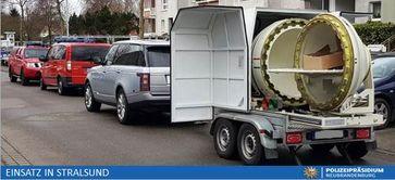 Sprengkapsel Munitionsbergungsdienst Bild: Polizei
