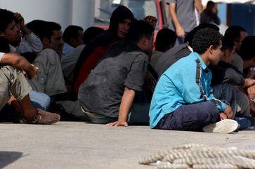 Migranten (Symbolbild)