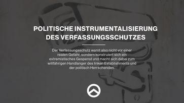 IB: Politische Instrumentalisierung des Verfassungsschutzes
