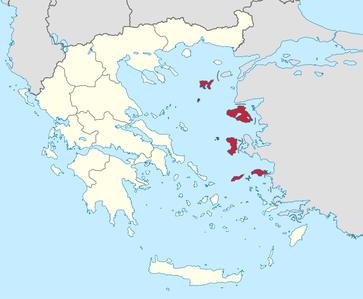 Nördliche Ägäis (griechisch Βόρειο Αιγαίο Vorio Egeo [ˈvɔrjɔ ɛˈʝɛɔ]) wird eine der 13 Regionen Griechenlands bezeichnet, die 1987 eingerichtet wurden und sich seit 2011 selbst verwalten.