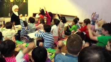 Eine Schulklasse mit biis zu 95% Ausländer/Einwanderer (Symbolbild)