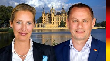 Dr. Alice Weidel und Tino Chrupalla (2021)