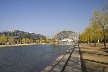 Das neue Gelände der Leipziger Messe