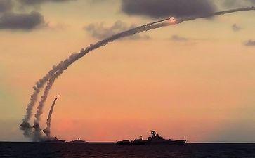 Seeschlacht, Raketenangriff (Symbolbild)