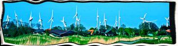 Noch immer wird einseitig auf veraltete und Mensch und Naturzerstörende Windkraftanlagen gesetzt, obwohl es längst bessere Technik gibt (Symbolbild)
