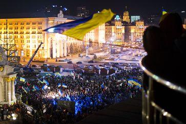 Demonstrationen am 27. November 2013 in Kiew