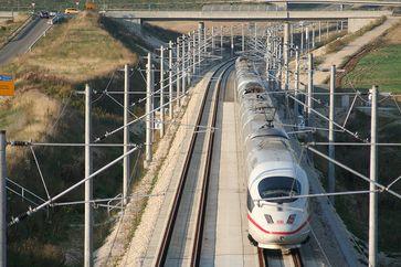 ICE-Strecke zwischen Nürnberg und München