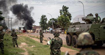Afrikanische Soldaten (Symbolbild)