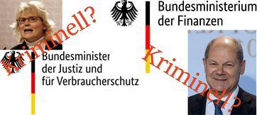 Staatsanwaltschaft durchsucht Bundesfinanzministerium und Bundesjustizministerium (Symbolbild)