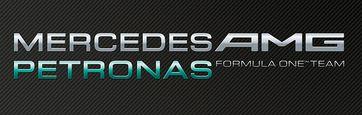 Logo des Mercedes AMG Petronas F1 Teams