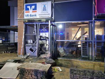 Ort der Explosion Bild: Polizei