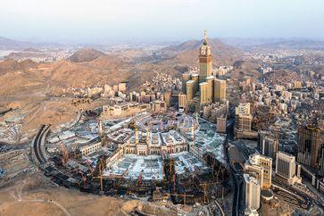 """Bau der Großen Moschee von Mekka  Bild: """"obs/ZDF/ZDF/Felix Sauter"""""""