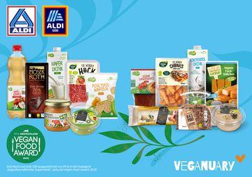 ALDI beim Veganuary dabei