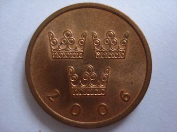 Eine halbe schwedische Krone