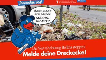 Dreck weg – Berlin macht sich sauber
