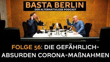 "Bild: Screenshot Video: ""Basta Berlin (Folge 56) – Erschütternde Recherchen: Die gefährlich-absurden Corona-Maßnahmen"" (https://youtu.be/nTvFCyJ3o-A) / Eigenes Werk"