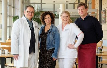 Hans-Peter Brenner (Michael Trischan), Linda Schneider (Isabel Varell), Miriam Schneider (Christina Petersen), Jakob Heilmann (Karsten Kühn)