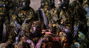 Britische Soldaten des Vereinigten Königreiches und der City of London (Symbolbild)