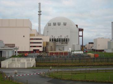 Kernkraftwerk Brokdorf: Das Reaktorgebäude