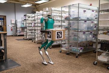 "Agility Robotics Bild: ""obs/Ford-Werke GmbH"""