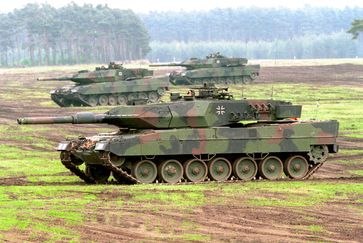 Leopard 2A5 Panzer der Bundeswehr