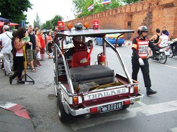Ein Chinnaraje ETT-6 Lanna der königlich thailändischen Polizei.