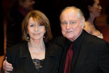 Senta Berger und ihr Mann Michael Verhoeven (2017)