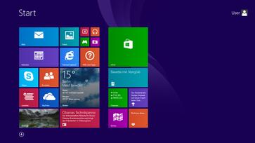 Startbildschirm von Windows 8.1 Bild: Microsoft