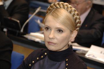 Tymoschenko bei einem Kongress der Europäischen Volkspartei in Bonn (September 2009)