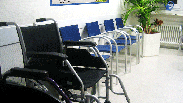 Wartezimmer (Symbolbild)