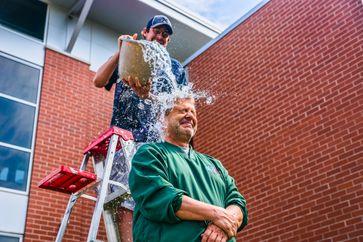 ALS Ice Bucket Challenge.