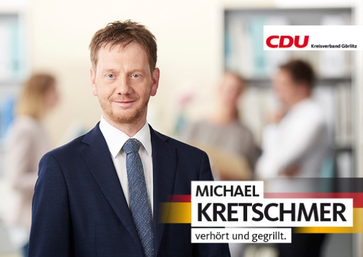 Michael Kretschmer (2017) Archivbild
