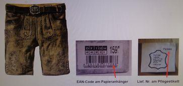 "Herrenlederhose hellbraun Bild: ""obs/Original Stockerpoint GmbH/Christina Huber"""
