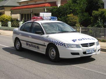 Einsatzfahrzeug der Australia Police (Symbolbild)