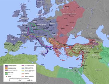 Kreuzzüge: Im Namen der römisch-katholischen Kirche (Symbolbild)