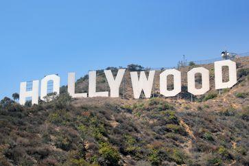 Der Hollywood-Schriftzug