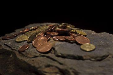 Kleingeld (Symbolbild): Stiftung mit fast keinem Kapital kann auch fast nichts unterstützen...
