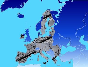 Europäische Union in 2020: Geschlossene Grenzen und weitestgehende Abschaffung aller Menschenrechte (Symbolbild)