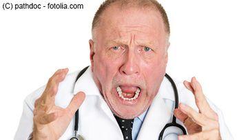 Ärzte sind sauer über die Politiker und ihren Bürokratiewahnsinn (Symbolbild)