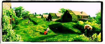 Familienlandsitze oder Kleingärtnerhöfe sind die Zukunft? (Symbolbild)
