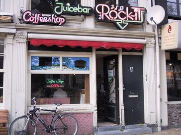 Rockit Amsterdam, ein kleiner Coffeeshop
