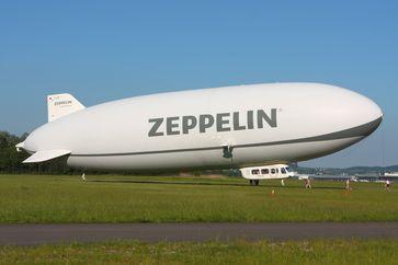 Manche Dinge müßen nicht neu erfunden werden: Zeppeline! (Symbolbild)