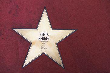 Senta Berger: Ehrung auf dem Boulevard der Stars