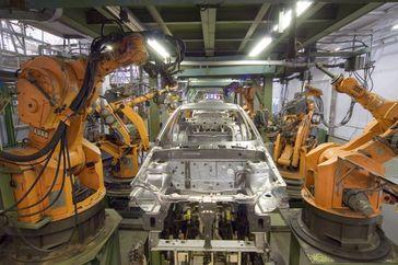 Industrieroboter IR 160/60, IR601/60 von 1983 (2007)