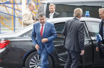 Sigmar Gabriel Bild: Number 10, on Flickr CC BY-SA 2.0