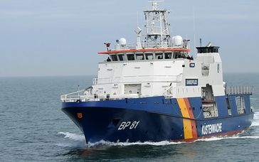 Das neue Einsatzschiff BP 81 POTSDAM
